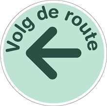 COVID-19 VOLG ROUTE PIJL LINKS